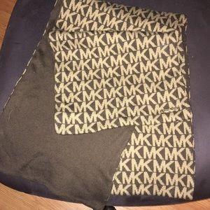 2/$20 Michael Kors brown/tan signature logo scarf